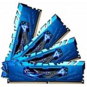 G.Skill 16 GB DDR4-RAM - 2400MHz - (F4-2400C15Q-16GRB) G.Skill Ripjaws Blue Kit CL15