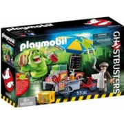 PLAYMOBIL 9222 - SLIMER SI STANDUL DE HOT DOG