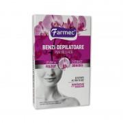 Benzi depilatoare fata Farmec orhidee 20 buc.