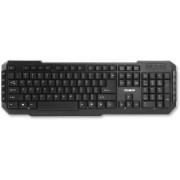 Tastatura Multimedia Zalman ZM-K200M cu fir neagra USB