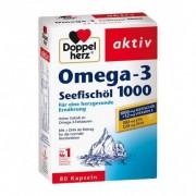 Doppelherz, Oméga-3 huile de poisson de mer 1000 mg