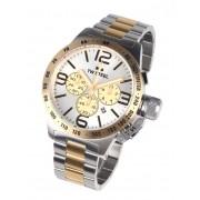 Ceas barbatesc TW-Steel CB34 Canteen Bracelet Cronograf 50mm 10ATM