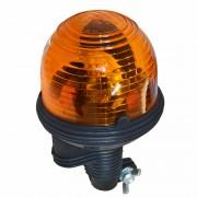 Girofar auto Carpoint 12V 55W orange flexibil profesional, plastic ABS, fixare cu conector Kft Auto