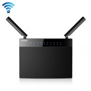 Tenda AC9 AC1200 Smart Dual-Band Wireless Router 5GHz 867Mbps + 2.4GHz 300Mbps WiFi Router with 2*3dBi External Dual Band Antennas(Black)