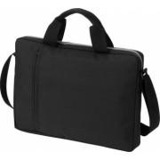 Geanta de conferinte si Laptop Everestus TA 14 inch 300D poliester negru saculet de calatorie si eticheta bagaj incluse