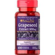 vitanatural grapeseed extract - druivenpittenextract 100 mg 100 capsules