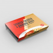 Myprotein Proteinové hotové jídlo - 6 x 380g - Spanish Chicken & Brown Rice