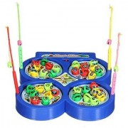 Kidz Fish Catching Game(Color May Vary)