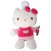 Jemini hello kitty knuffel fait la cuisine meisjes roze 15 cm