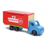 Детска дървена играчка камион - гараж Vilac