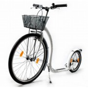 KICKBIKE sparkcykel City G4 vit