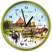 Groene klok boerderij Rien Poortvliet