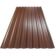 Tabla cutata Precit Roof H18 2000x1140x0,4 mm maro