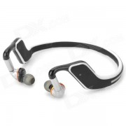 QUICKMAN Sports Bluetooth V4.0 Headband Auriculares con microfono - Negro + Blanco + Multicolor
