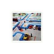 Covor Blue Town Traffic 134x180cm