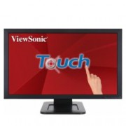 """Монитор ViewSonic TD2421, 23.6"""" (59.94 cm) Touch VA панел, Full HD, 5ms, 50M:1, 250 cd/m2, HDMI, DVI, VGA"""