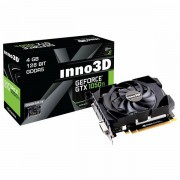 Inno3D Video Card GeForce GTX 1050 Ti Compact X1 GDDR5 4GB/128bit, 1290MHz/7000MHz, PCI-E 3.0 x16, HDMI, DVI-D, DP, Herculez 1000 Cooler Double Slot, Retail N105T-1SDV-M5CM