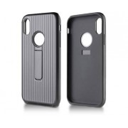 Andersson Strong Hard Case w/ Stand Black for Apple iPhone XS Max