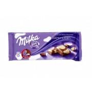 Milka Ciocolata Lapte si Ciocolata Alba 100 g
