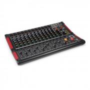 PDM-M1204 Misturador de Música 12 Entradas P/ Microfone Processador FX Multi