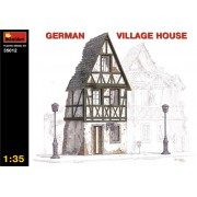 GERMAN VILLAGE HOUSE épület makett MiniArt 35012