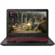 Лаптоп Asus FX504GD-E4075, Intel Core i7-8750H (up to 4.1 GHz, 9MB), 15.6 инча FullHD (1920x1080) IPS AG, 8192MB DDR4 ( 1 slot free), 90NR00J2-M07500