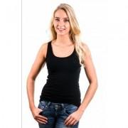 Garage Women Singlet Bodyfit Black ( 0703) - Zwart - Size: Extra Large