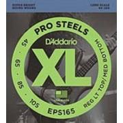D'Addario EPS165 Pro Steels Bass, Long Scale, Medium Light, 45-105