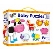 Baby Puzzle - Ferma, 12 piese