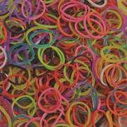 Elastice Rainbow Loom - Standard Mix-600 buc