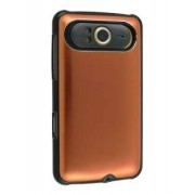 Brushed Aluminium Case for HTC HD7 - HTC Hard Case (Bronze)