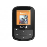 SanDisk MP3-spelare 16 GB Svart Monterings-clip, Bluetooth, Vattentät