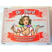 Dr. Hard 4 db kapszula stressz ellen, természetes potencianövelésre