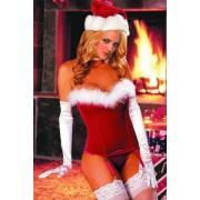 Erotický vánoční kostým, korzet Roxana