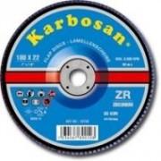 Karbosan Lamellás csiszoló 115 mm ZR 80