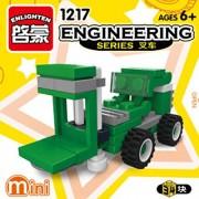 ENLIGHTEN Urban Construction Engineering Vehicles Model Building Blocks Compatible With Legoe DIY Assembling Bricks Kids Toys (1217)