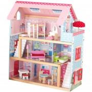 KIDKRAFT Chelsea Casa casita de muñecas con Muebles