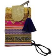 Laviva Etnnic Designed Multicolored Sling Pouch Bag Potli(Multicolor)