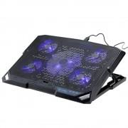"Draagbare USB Notebook Laptop Cooler Pad Cooling Base Chill Mat Radiator tot 2000 RPM voor Geen Meer Dan 15.6"""