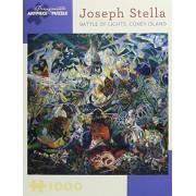 Joseph Stella Battle of Lights, Coney Island: 1,000 Piece Puzzle;Pomegranate Artpiece Puzzle