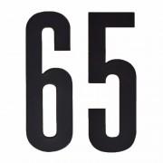Geen Cijfers / nummers stickers 65