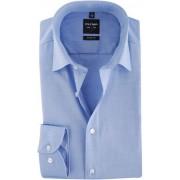 OLYMP Level Five Overhemd Body-Fit Blauw