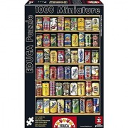 Educa 14835 Miniature Cans Jigsaw Puzzle One Color