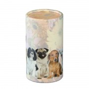 Medium Bio Eco Urn of As-strooikoker Honden (0.7 liter)