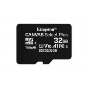 Kingston Canvas Select Plus - Flash-minneskort (adapter,