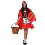 Deguisetoi Déguisement chaperon rouge classique femme - Taille: M