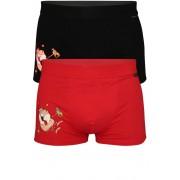Santa veselé boxerky s vánočním motivem M MIX