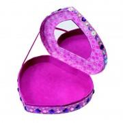 Set creatie pentru fetite Galt Cutie de bijuterii, stickere, cutie de bijuterii cu oglinda
