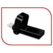 USB Flash Drive 64Gb A-Data i-Memory AI920 Lightning to USB 3.1 Black AAI920-64G-CBK
