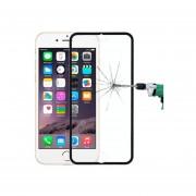 0,3 Mm A Prueba De Polvo A Prueba De Explosiones En Pantalla Completa Estrecho Bisel De Cristal Templado De Cine Para IPhone 6 Plus Y 6S Plus ( Negro )